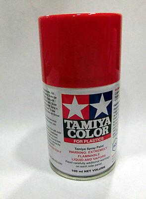 Tamiya TS-8 spray rojo italian Paint spray enamel italian red Tamiya