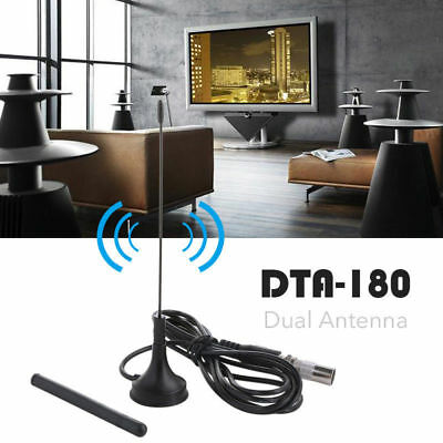 DTA180 Portable HD TV Antenna Indoor Digital HD Freeview Aerial Ariel Magnetic