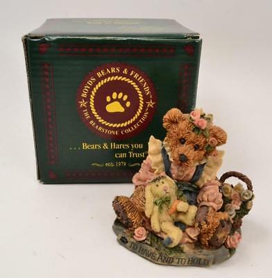 Boyds Bears & Friends - BAILEY & WIXIE - TO HAVE AND TO HOLD - #010