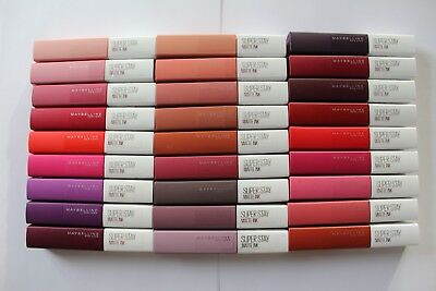 Maybelline Superstay Matte Ink 5ml - Please Choose Shade: