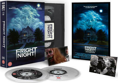 FRIGHT NIGHT BLU-RAY DVD (Retro VHS Style Case) BRAND NEW SEALED