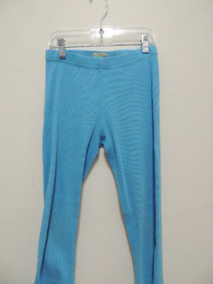 Hanna Andersson Size 140/ 10 Girls Cropped Ribbed Knit Pants EUC