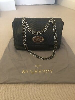db2be02b708 AUTHENTIC MULBERRY HANDBAG Lily Brand New With Tags Bright Orange ...