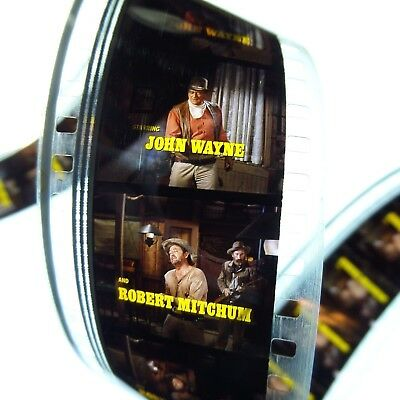 El Dorado 1966 John Wayne  - 35mm Movie Film Trailer Robert Mitchum, James Caan