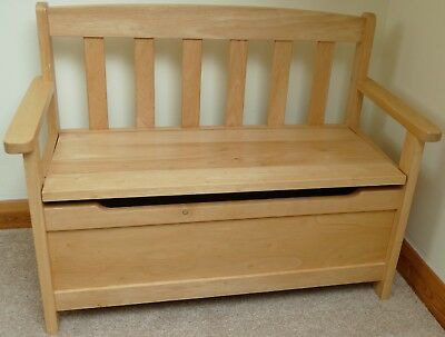 Fine Childrens Wooden Storage Bench Chest John Lewis 44 21 Ocoug Best Dining Table And Chair Ideas Images Ocougorg