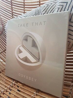 * Limited Edition - Signed * Take That Odyssey Double Cd Box Set - New Sealed