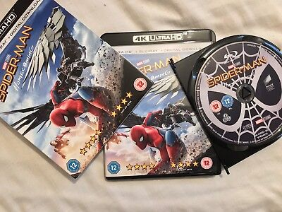 Spider-Man: Homecoming [Blu-Ray] New Including Digital Download