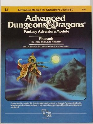 """TSR 9052 I3 """"Pharaoh"""" (AD&D) 103003005 --> NO BOOK only the maps"""
