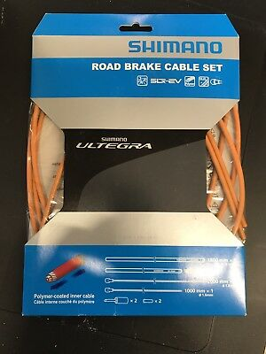 Shimano Ultegra R680 BC-R680 Road Brake Cable Set Polymer coated RED