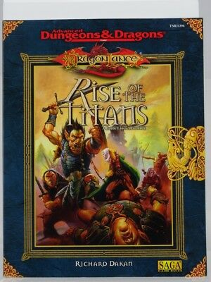"""TSR 11396 DragonLance """"Rise of the Titans"""" (AD&D, Wizard of the Coast) 103003006"""