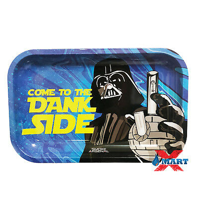 Smoke Arsenal DANKSIDE STAR WARS DARTH Tobacco Metal MEDIUM Rolling Tray 11x7