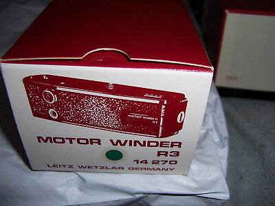 Leica Motor Winder R3, Boxed, Brand New  NOS