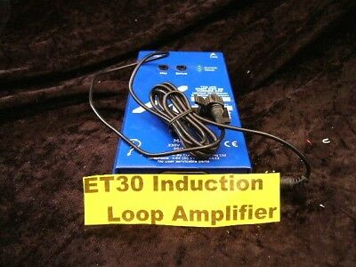 ET30 Induction Loop Amplifier EX DISPLAY Easy T Range Hardwired Only