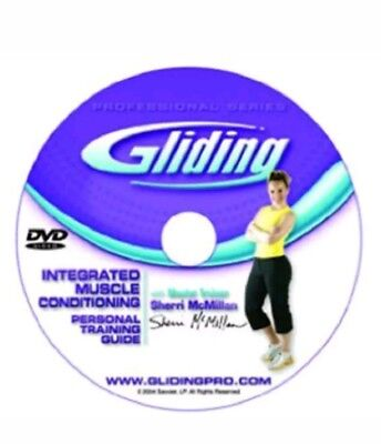 Gliding Discs DVD Home Workout ( NO Gliding Disc's) NEW SEALED INTEGRATED MUSCLE