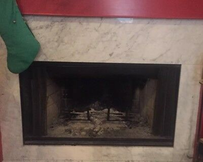 Marble Fireplace Stone Surround Black And White