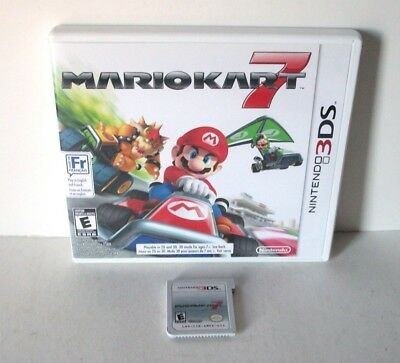 Mario Kart 7 (Nintendo 3DS) Game & Case Racing Online Multiplayer Kids 2011