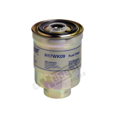 Fuel Filter HENGST H17WK09 for MITSUBISHI PAJERO II Canvas Top 2.5 TD 4WD III