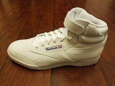 MENS REEBOK CLASSIC EX O FIT HI WhiteWhite STYLE # 3477