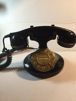 Vintage Microtel Phone Model 964 Black Push Buttons