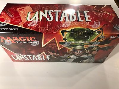 SEALED MTG Unstable Booster Box FAST SHIP Magic: the Gathering ENGLISH