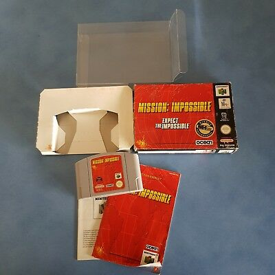 Mission Impossible 64 - N64 BOXED COMPLETE- PAL NINTENDO 64 Cleaned And Tested