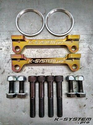 K-SYSTEM.pro** HONDA CIVIC EP3 / FN2 TYPE-R ** BREMBO 4-POT 324x30 FITTING KIT