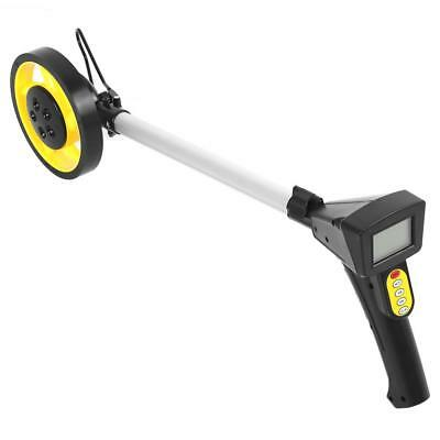 Foldable 0-99999.9M LCD Digital Distance Measuring Wheel W/ Stand Surverors Land