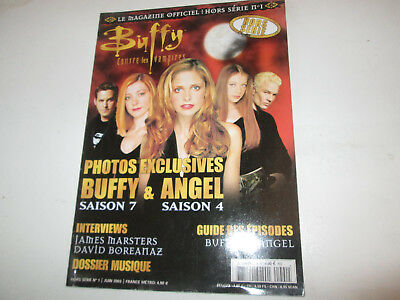 BUFFY contre les vampires  1..... magazine officiel hors serie  .....