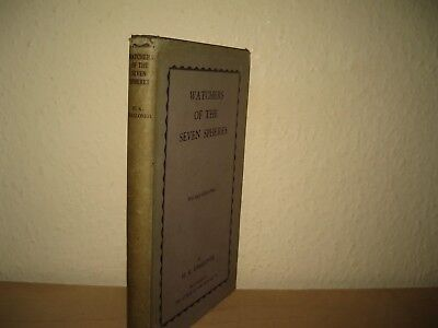 Watchers of the Seven Spheres H.K. Challoner 1933 1st Edition & 8 Colour plates