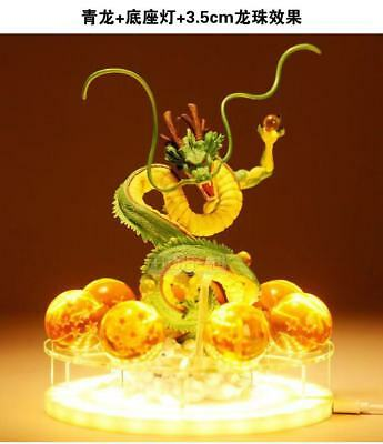 New Dragon Ball z Shenlong Plus Lighting Base plus a set of seven Dragon Balls.