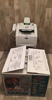 Brother Mfc-8220 Business Laser Multifunction Fax New Drum And Toner 8K Pages
