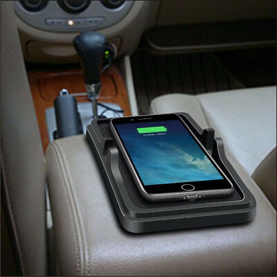 341B 5W Mount Phone Holder Automobile Non-Slip Fast Phone Charging