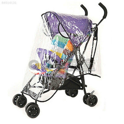 EA53 Baby Universal Waterproof Stroller Rain Cover Wind Shield Pushchair Cover*