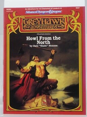 """TSR 9337 Greyhawk """"Howl From the North"""" (AD&D 2nd Edition) 103003002"""