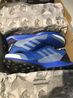 finest selection aca07 a2794 Adidas Mens Terrex CMTK Trail Running Shoes Trainers Sneakers Blue Sports  10.5