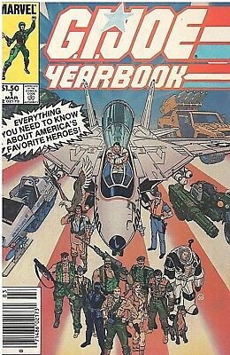 G. I. Joe Marvel Yearbook #1 March, 1985