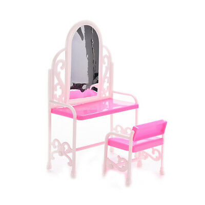 Miniature Dressing Table Mini Bedroom Furniture 1:12 Model Doll House Accessorie