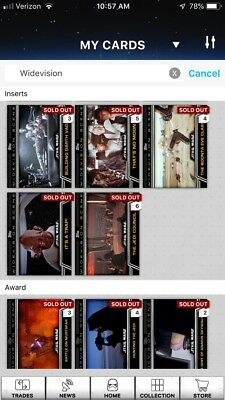 Topps Star Wars Card Trader Widevision Series 1 Lot