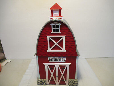 Green Acres Barn Musical Cookie Jar Plastic Kitchen Decor TV Show Theme Song