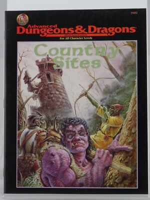 """TSR 9482 """"Country Sites"""" (AD&D) 103003002"""