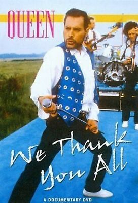 Queen. We Thank You All. A Documentary Dvd