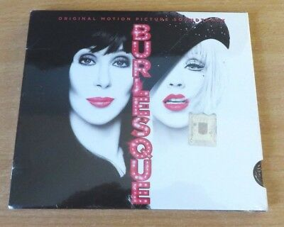 Christina Aguilera & Cher - Burlesque Soundtrack CD Rare Romania Edition Sealed