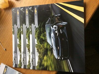 2017 CHEVY CAMARO 38-page Original Sales Brochure 3 Copies