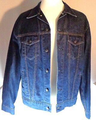 Gap Denim Trucker Jacket Mens Size XL