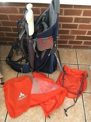 6706c40be8 Vaude Jolly Comfort 1 Baby / Child Hiking Backpack Carrier With Accessories