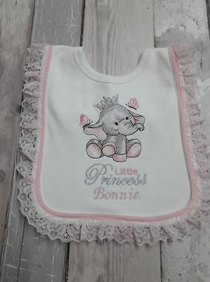 Lace baby bib,romany,spanish,pretty