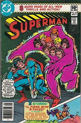 Superman #351 DC Comics 1980  VG-