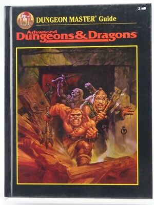 """TSR 2160 """"Dungeon Master Guide"""" (AD&D) 103003004"""