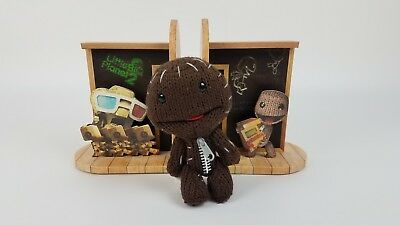 Little Big Planet 2 Book Ends Sony Playstation Collector's Edition EUC