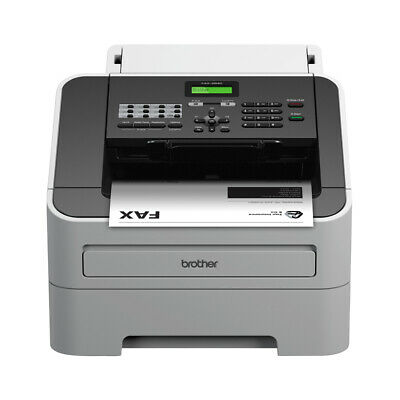 New  Brother FAX-2840 fax machine Laser 33.6 Kbit/s A4 Black,Grey BFAX-2840